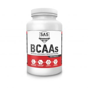SAS Nutrition BCAA - 120 Tabs