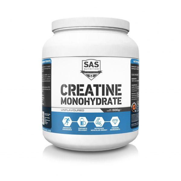 SAS Nutrition Creatine Monohydrate 500g