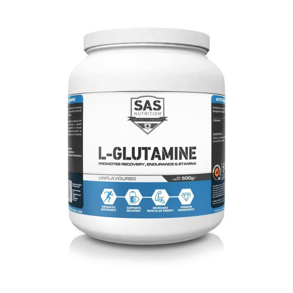 SAS Nutrition - L-Glutamine Powder – 500g