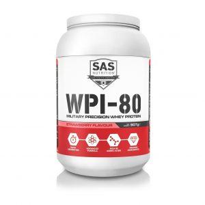 SAS Nutrition - WPI80 2lbs strw