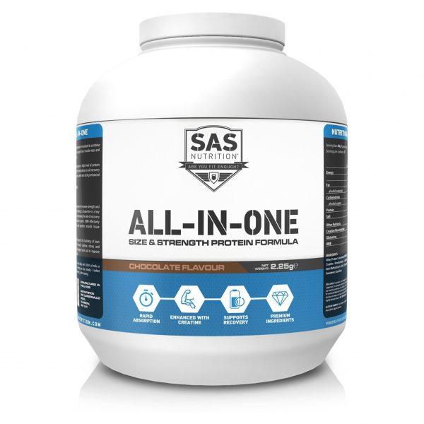 SAS Nutrition WPI80 - Choc