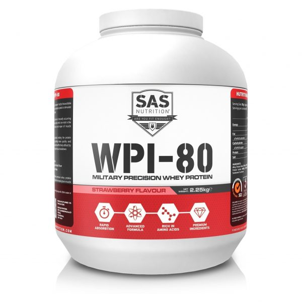SAS Nutrition - WPI80 Strawberry