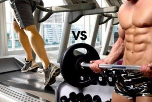 Cardio vs Resistance training for weight loss